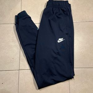Dark/Navy Blue Nike Joggers BLUE•WHITE